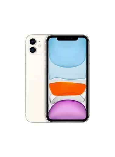 Apple AppleiPhone 11 128GB Beyaz Cep Telefonu Aksesuarsız Kutu (Apple Türkiye Garantili) Renkli
